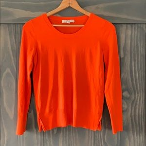 Loft Scoop-Neck Sweater. Size S.